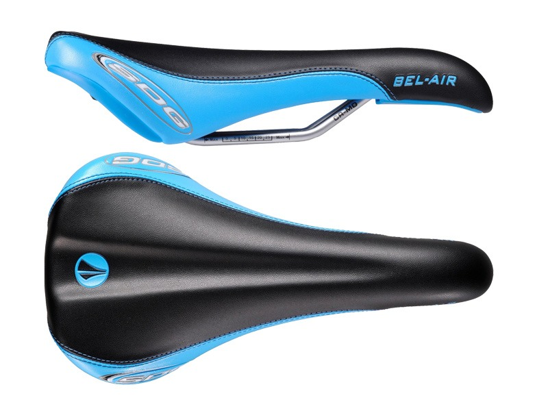 SDG Selle Bel Air RL Cro-Mo - Noir / Bleu 2020