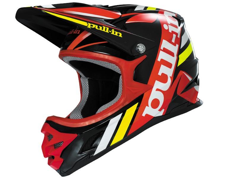 Pull-In Casque BMX-DH Noir / Rouge 2016