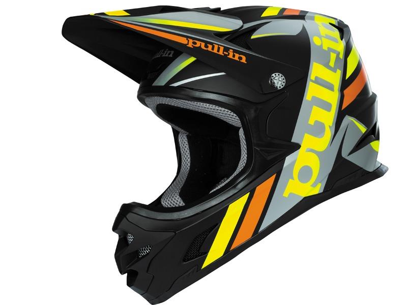 Pull-In Casque BMX-DH Noir Mat 2016