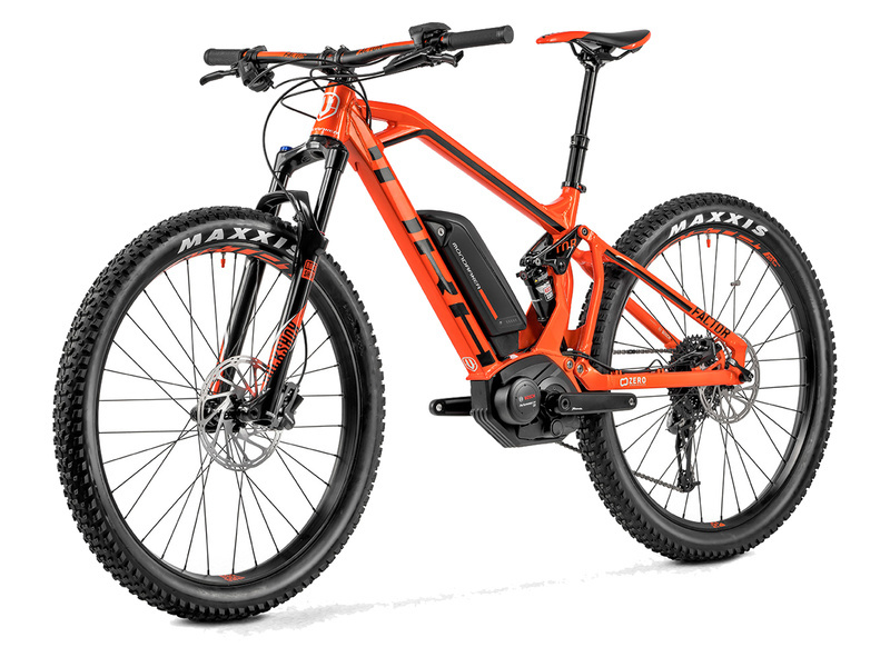 Mondraker VTTAE e-Factor + 27,5'' Orange 2018