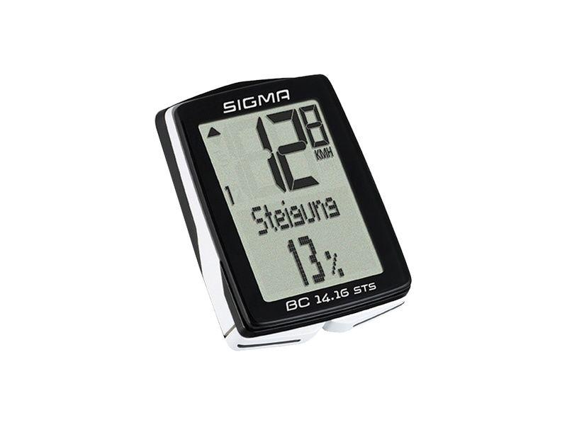 Sigma Compteur sans fil 14 fonctions BC 14.16 STS