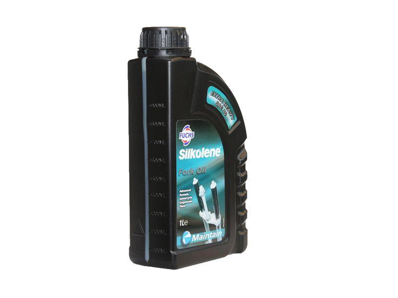 Huile de lubrification pour suspensions VTT