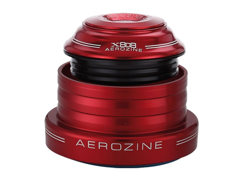 Aerozine Jeu de direction conique (ZS44/28.6 EC 49/40) - Rouge