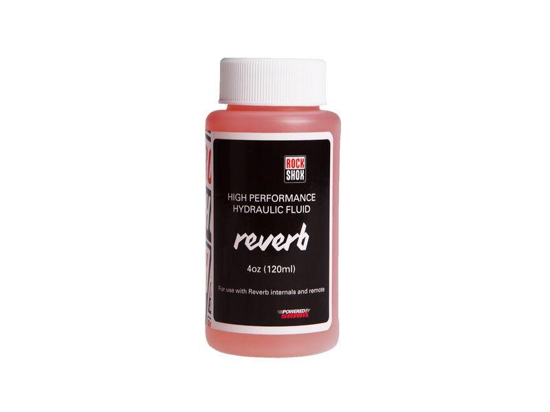 Rock Shox Huile pour tige de selle Reverb 120 ml - 2,5 WT