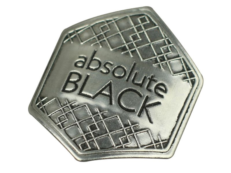 Absolute Black Autocollant métallique