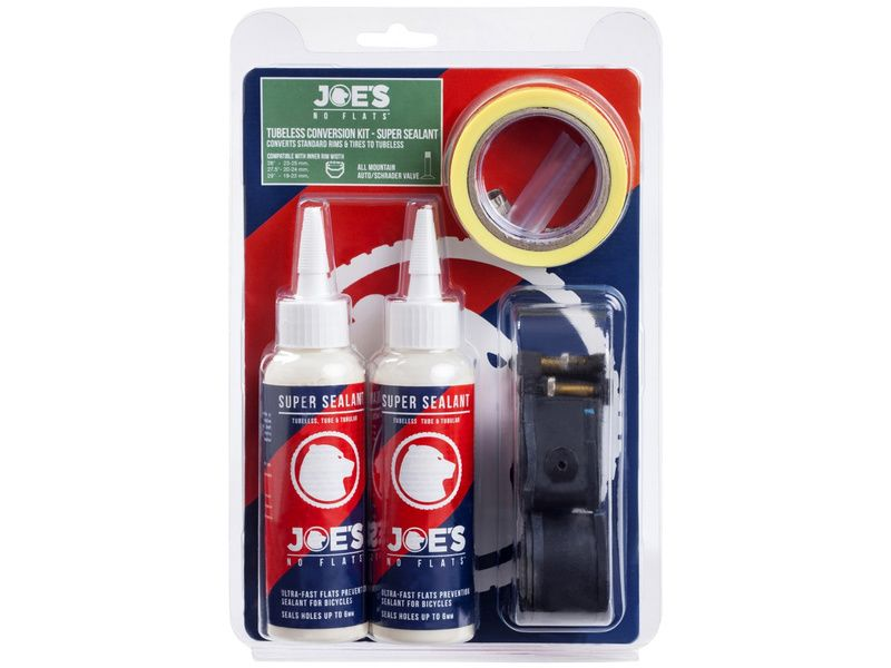 Kit conversion Tubeless Super Sealant