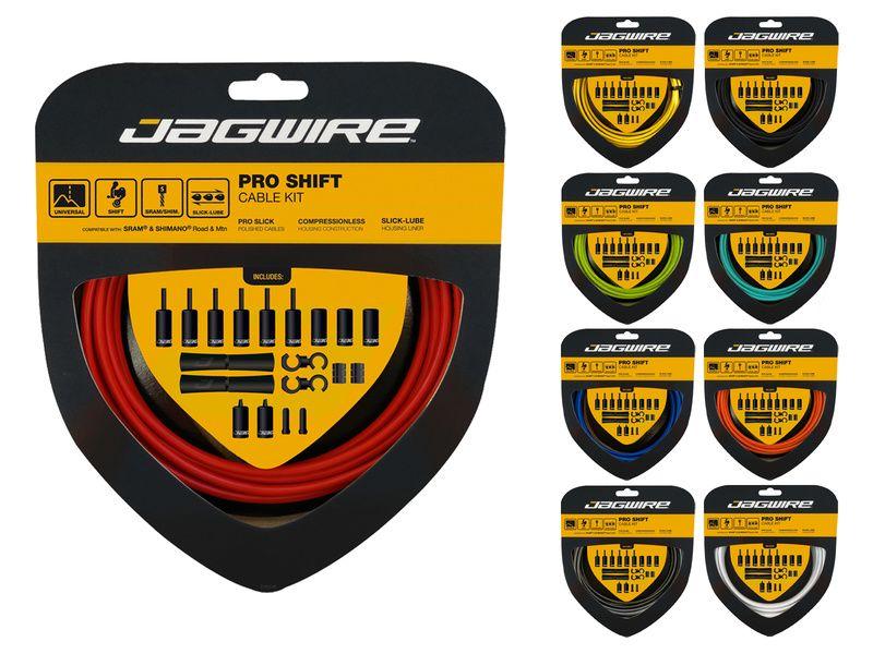 Jagwire Kit câbles et gaines de dérailleur Pro Shift