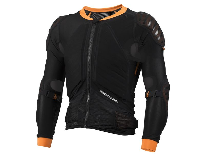 661 Sixsixone Protection dorsale Evo Compression Jacket Manches Longues