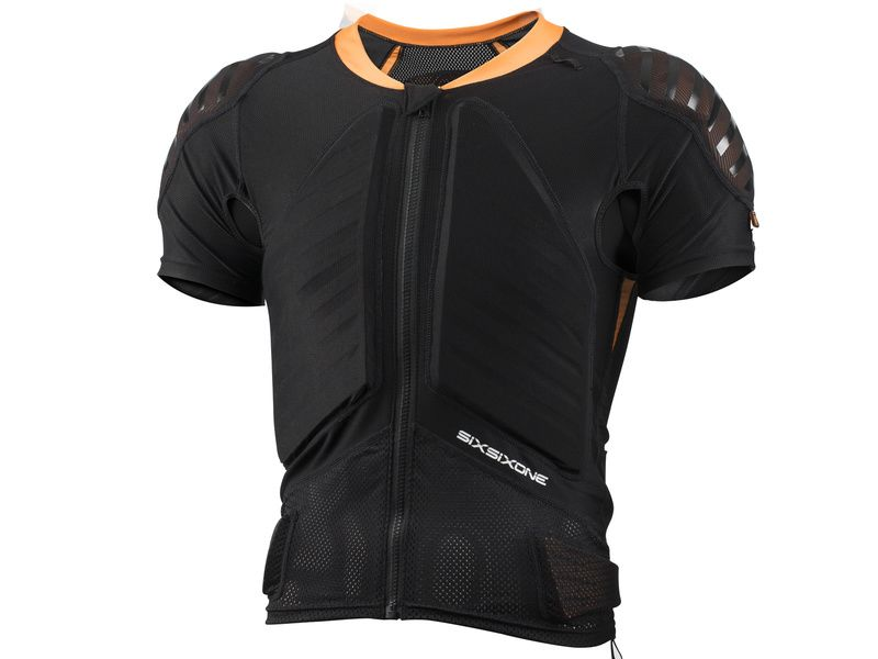 661 Sixsixone Protection dorsale Evo Compression Jacket Manches courtes