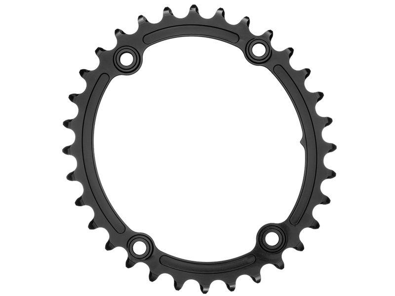 Absolute Black Plateau Ovale Sub Compact Premium - 4 trous 110 mm - Noir 2020