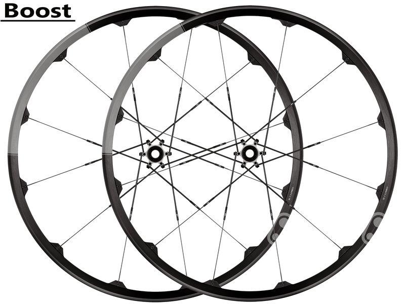 Crank Brothers Paire de roues Cobalt 2 Noir et Gris 29'' - Boost 2020