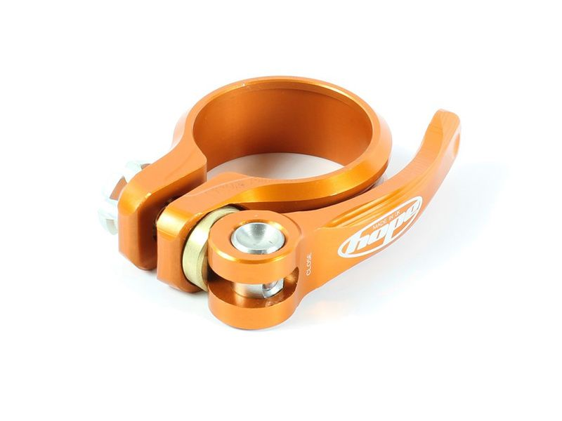 Hope Collier de selle à serrage rapide Orange 2020