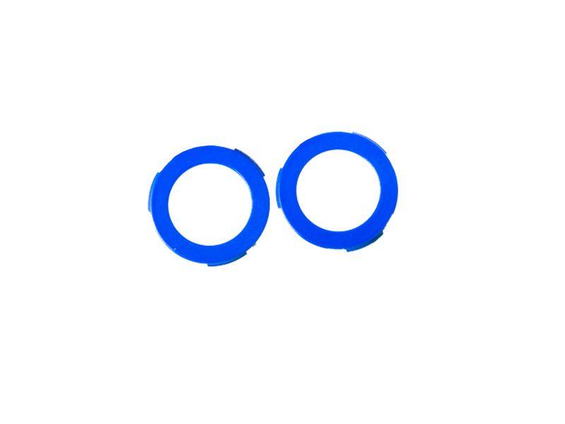 Magura Kit d'oeillets pour étrier 2 pistons MT4/MT6/MT8 et MT Trail (arrière) - Bleu