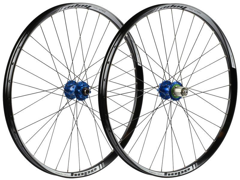 Hope Paire de roues Tech 35W Pro 4 27,5'' Bleu 2017