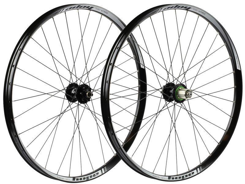 Hope Paire de roues Tech 35W Pro 4 27,5'' Noir 2019