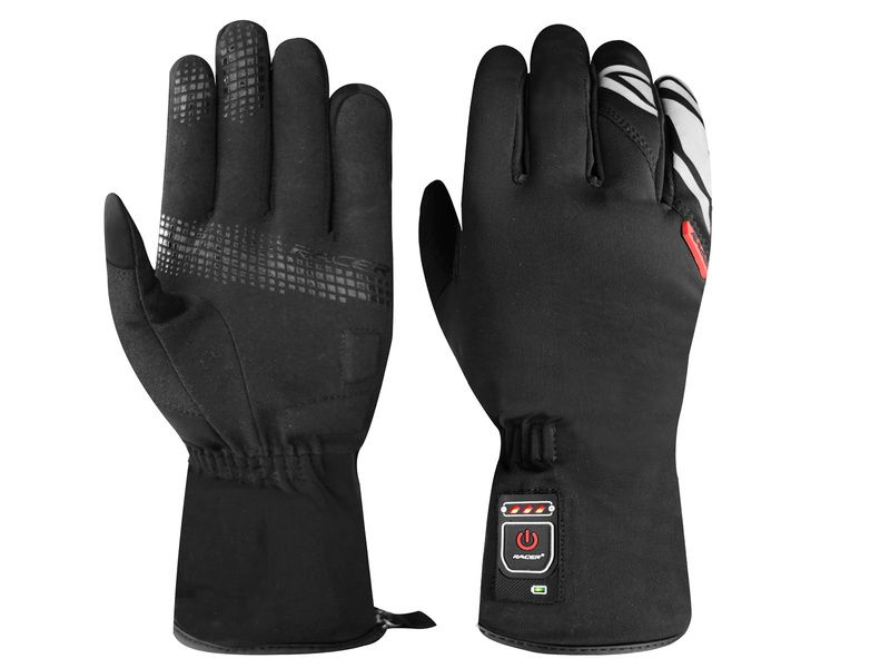 racer gants chauffants e glove 2 purebike. Black Bedroom Furniture Sets. Home Design Ideas