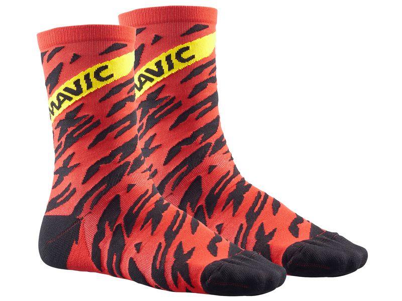 Mavic Chaussettes Deemax Pro Rouge 2018