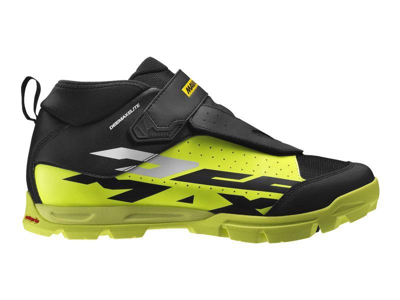 Mavic Chaussures Deemax Elite Jaune Fluo