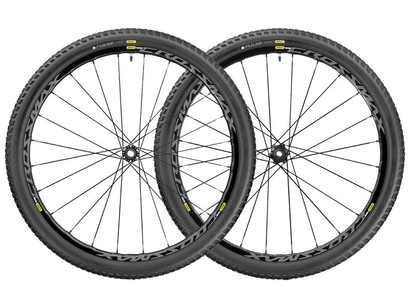 Mavic Paire de roues Crossmax Elite WTS Noir 27,5'' - Pneu 2.25 2017