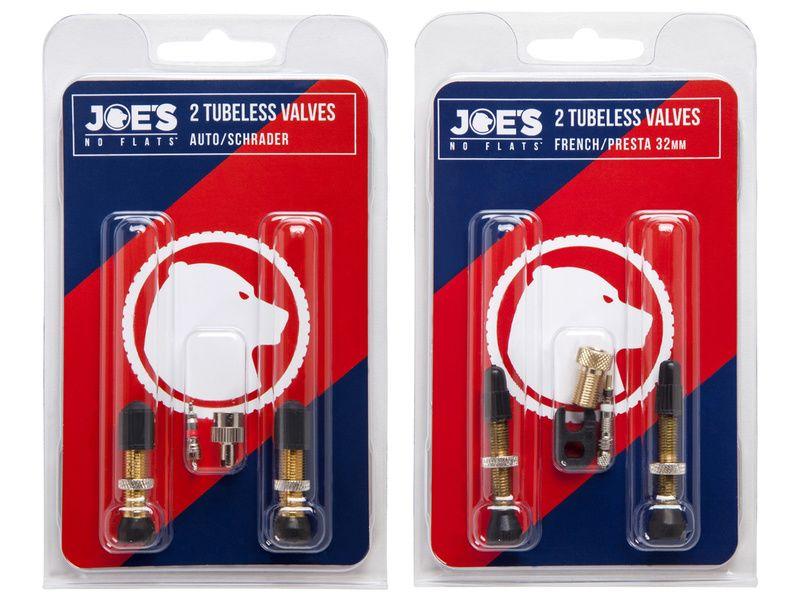 Joe's No-Flats Valve tubeless (X2) 2018