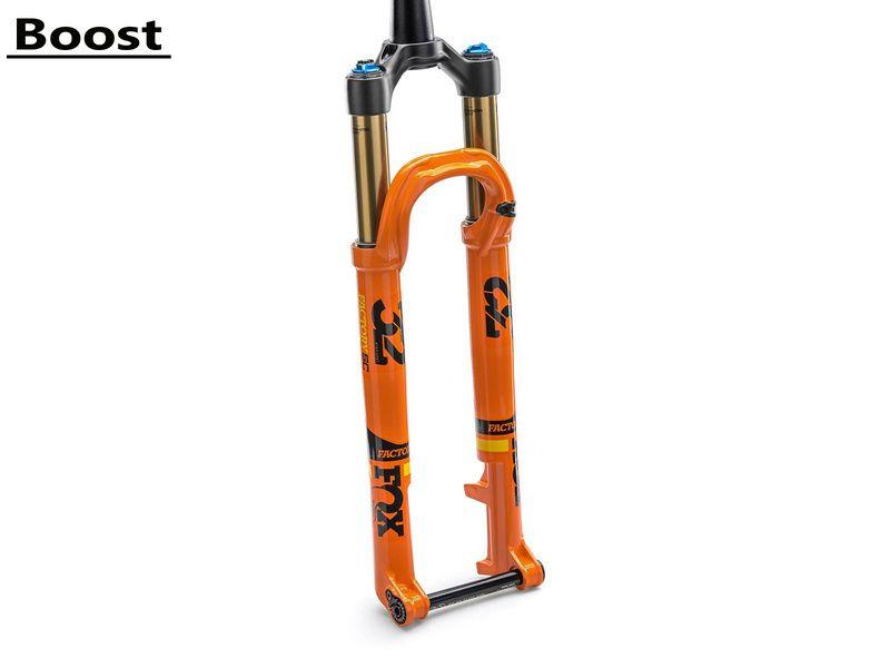 "Fox Racing Shox Fourche 32 Float SC Factory FIT4 29"" - Axe Kabolt Boost 15x110 mm - Orange 2018"
