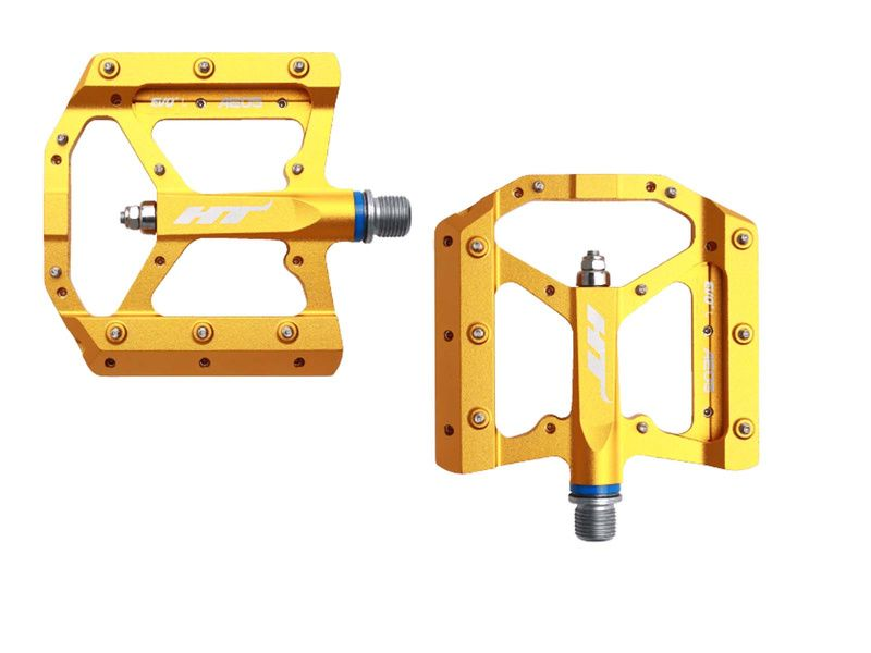 HT Components Pédales Evo AE05 Or 2019