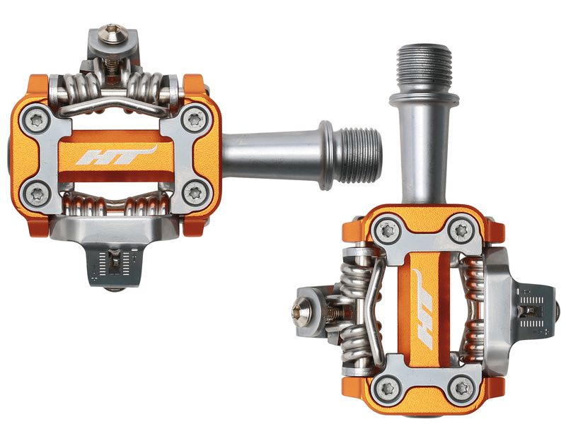 HT Components Pédales Auto M1 Orange 2019