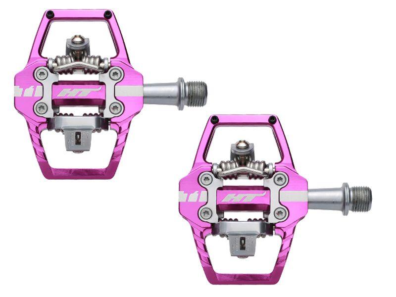 HT Components Pédales Auto T1 Violet 2020