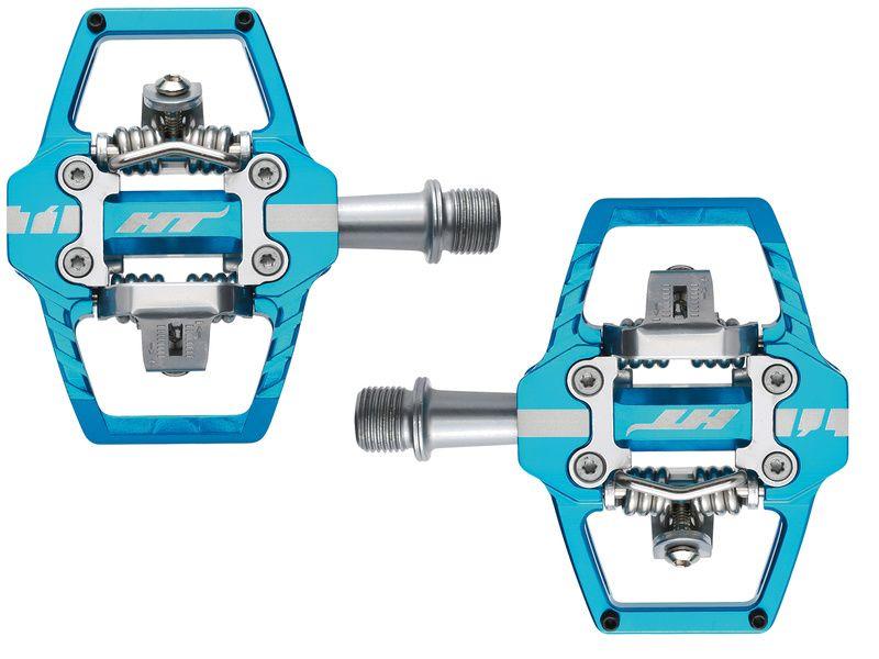 HT Components Pédales Auto T1 Bleu Marine 2020