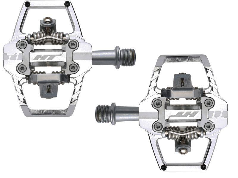 HT Components Pédales Auto T1 Argent 2020