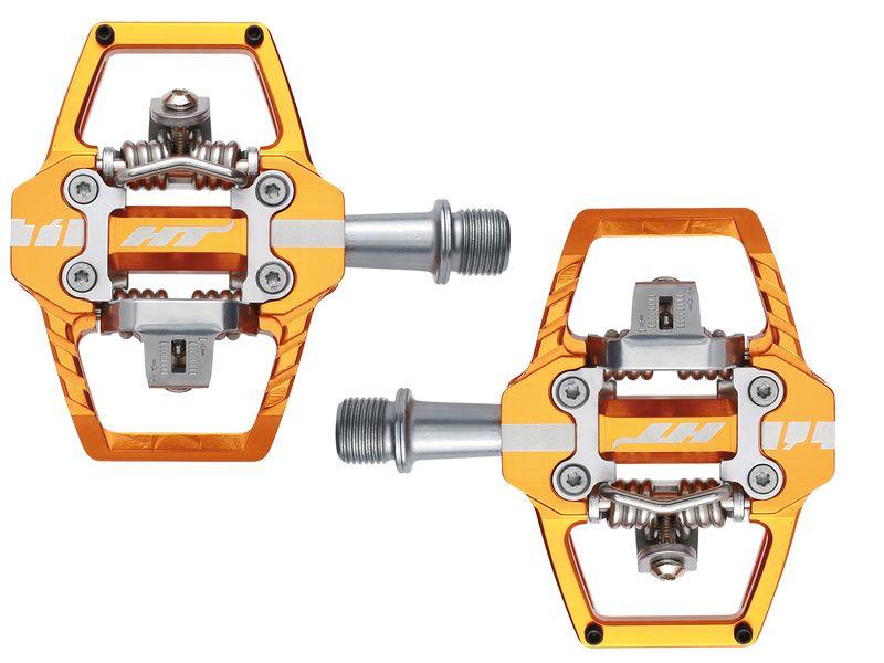 HT Components Pédales Auto T1 Orange 2020
