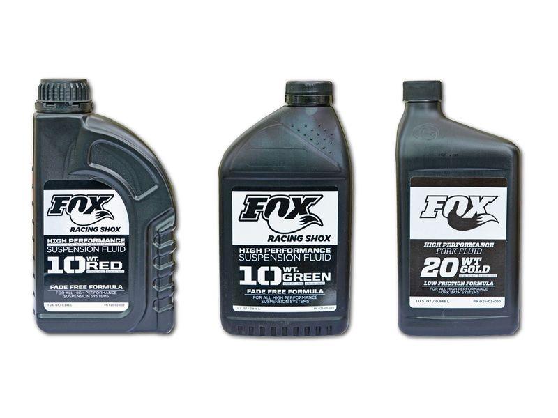 Fox Racing Shox Huile Suspension Fluid