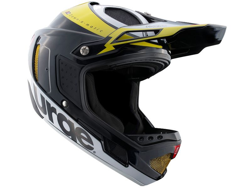 Urge Casque Down-o-matic RR Noir-Jaune 2020