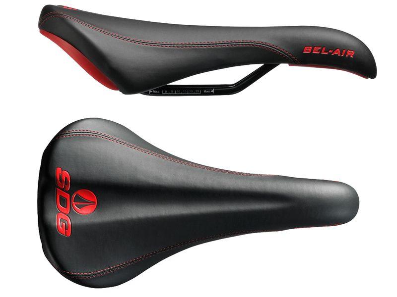SDG Selle Bel Air RL Acier - Noir / Rouge 2020