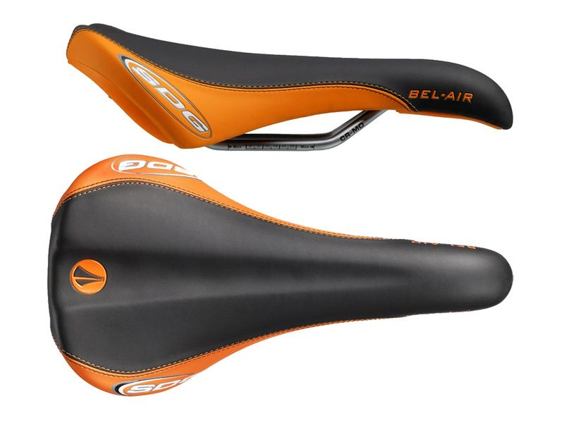 SDG Selle Bel Air RL Cro-Mo - Noir / Orange 2020