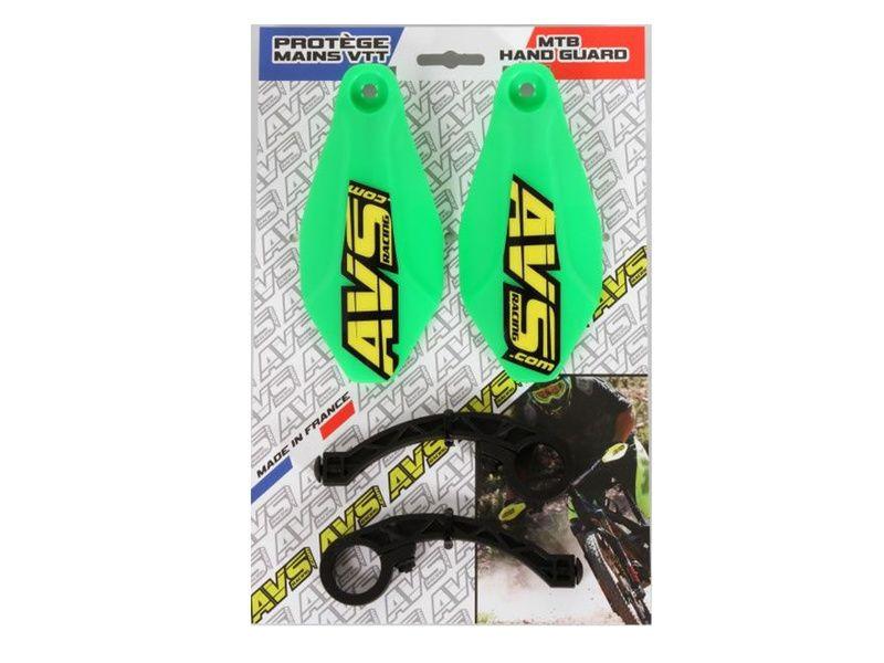 AVS Protège mains avec pattes plastique - Vert 2019