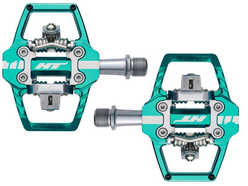 HT Components Pédales Auto T1 Green Cyan 2020