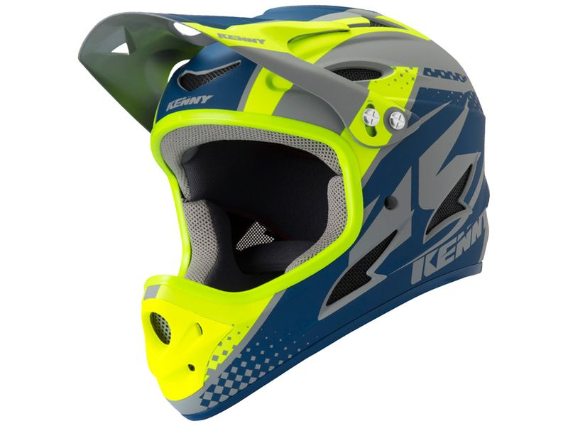 Kenny Casque Down Hill Grey Navy 2019