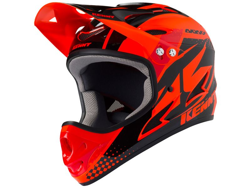 Kenny Casque Down Hill Orange 2019