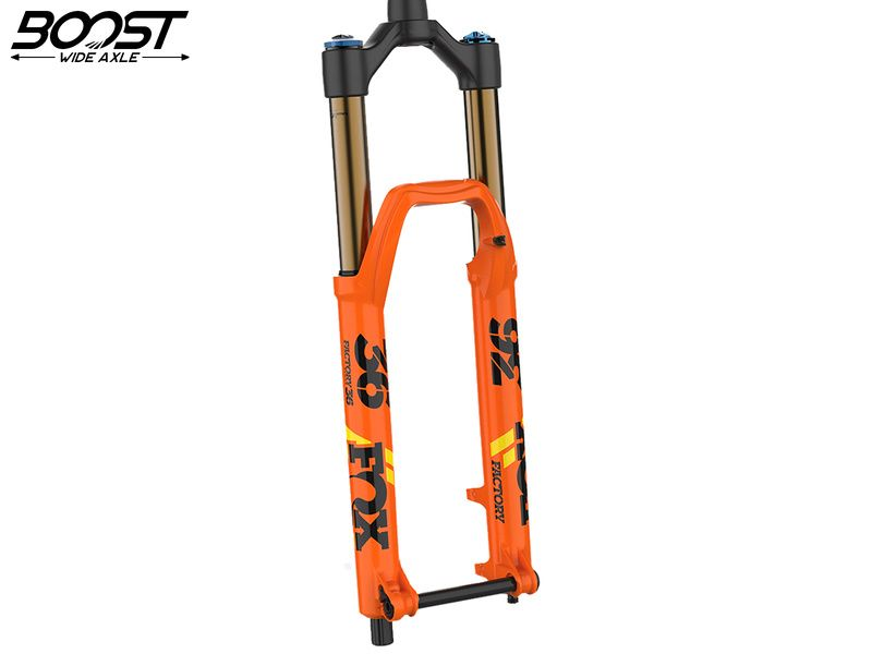 "Fox Racing Shox Fourche 36 Float 29"" Factory 170 mm - Grip2 - 15x110 Boost - Orange 2019"