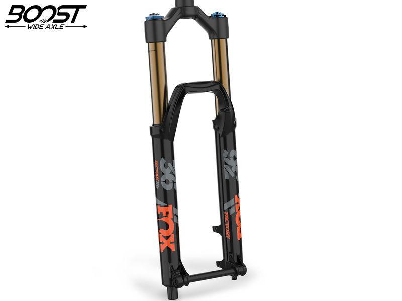 """Fox Racing Shox Fourche 36 Float 27.5"""" Factory - Grip2 - 15x110 Boost - Noir 2020"""