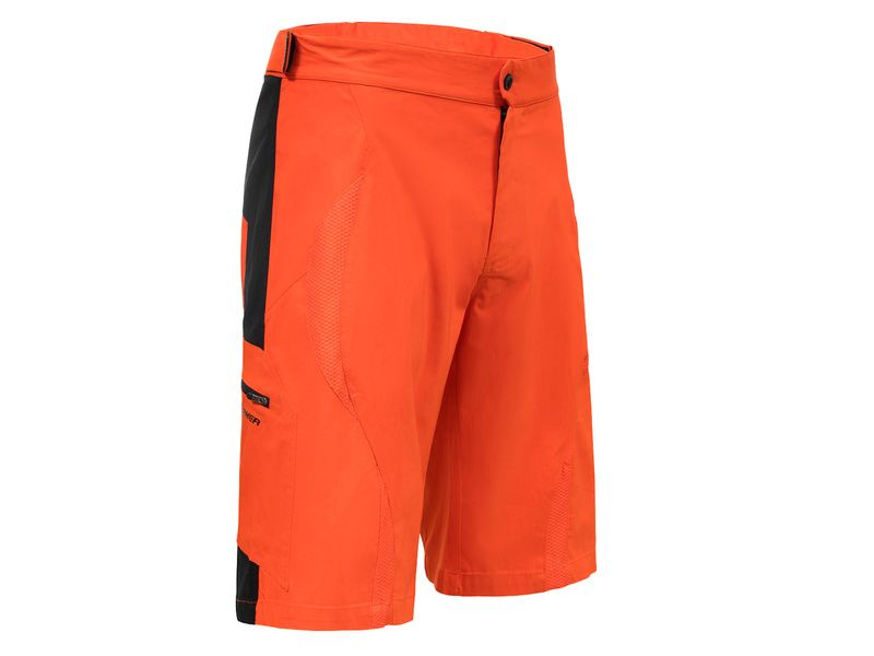 Mondraker Short Enduro Orange (avec chamois) 2018