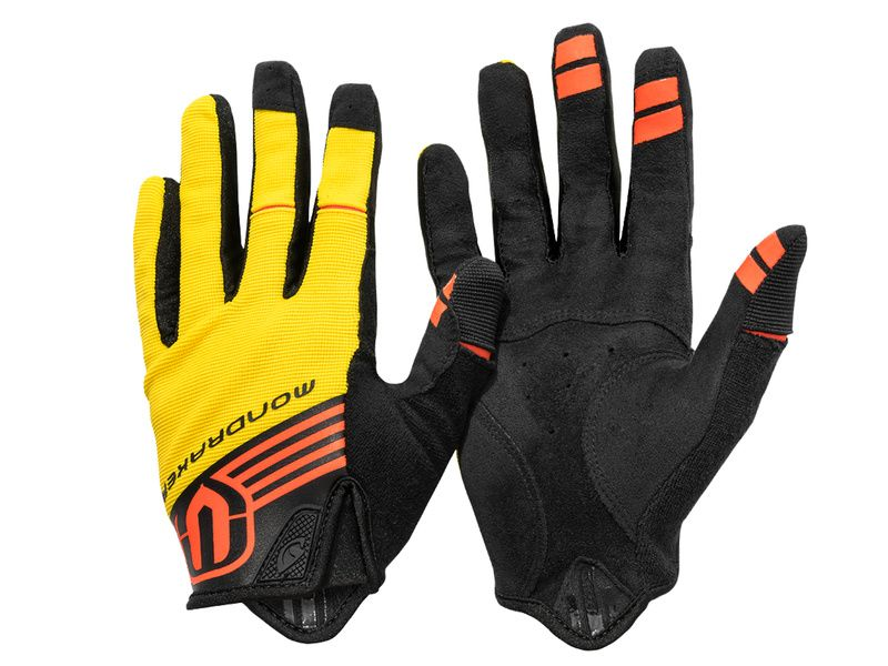 Mondraker Gants Longs by Giro – Jaune et Orange – S