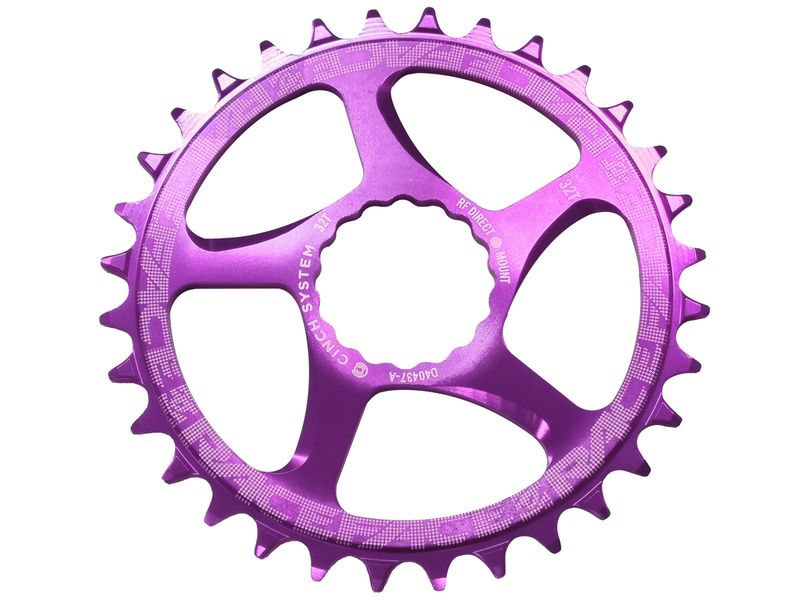 Race Face Mono Plateau Narrow Wide Direct Mount Cinch Violet 2019