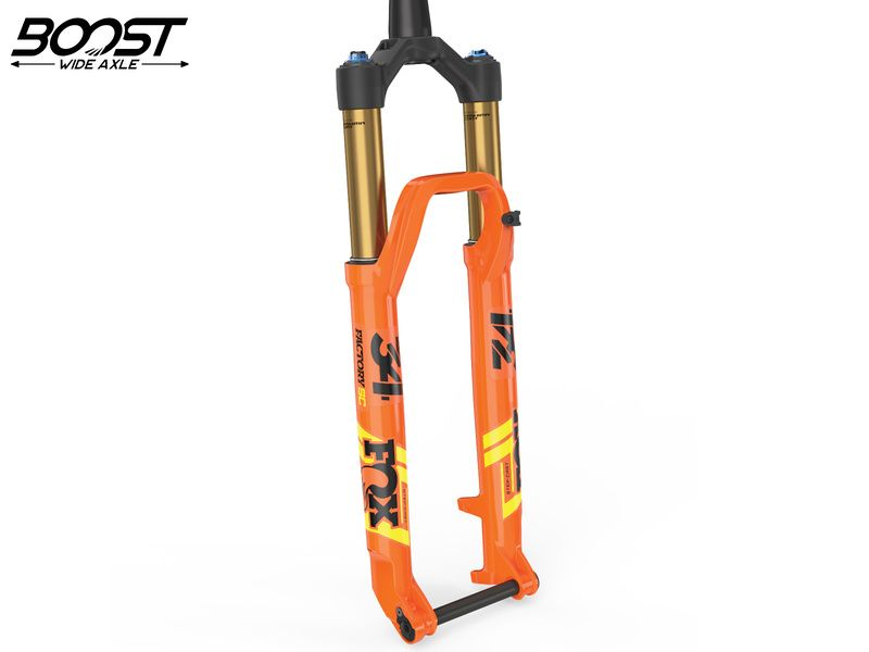 "Fox Racing Shox Fourche 34 Float SC 27.5"" Factory 120 mm - FIT4 - 15x110 Boost - Orange 2019"