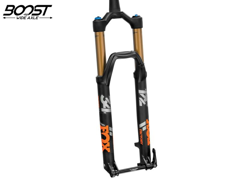 "Fox Racing Shox Fourche 34 Float 27.5"" Factory - 3Pos-Adj - FIT4 - 15x110 Boost - Noir 2020"