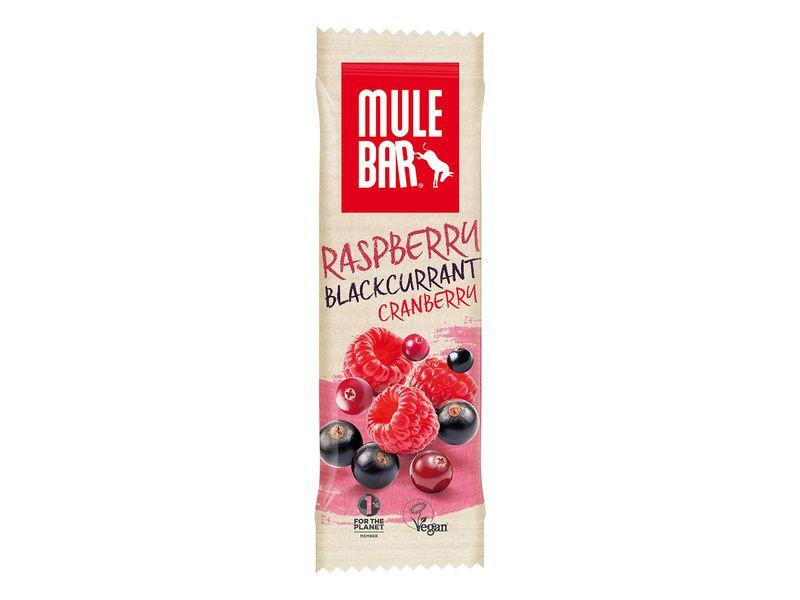 Mulebar Barre énergétique Cassis, Cranberries, Framboise