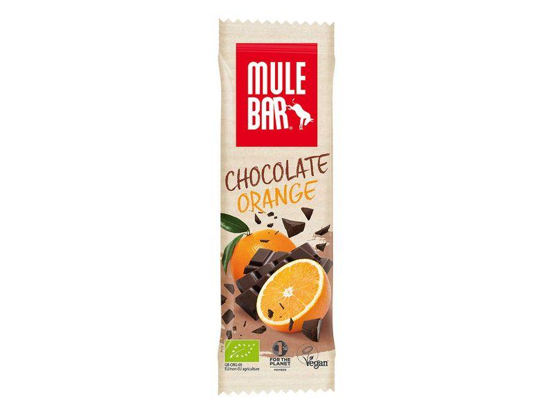 Mulebar Barre énergétique Chocolat, Orange