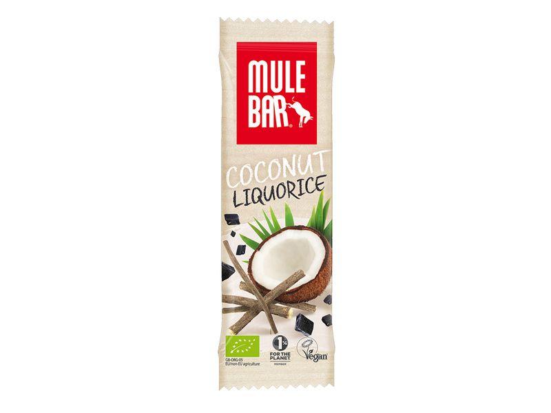 Mulebar Barre énergétique Reglisse, Graine de fenouil, Coco