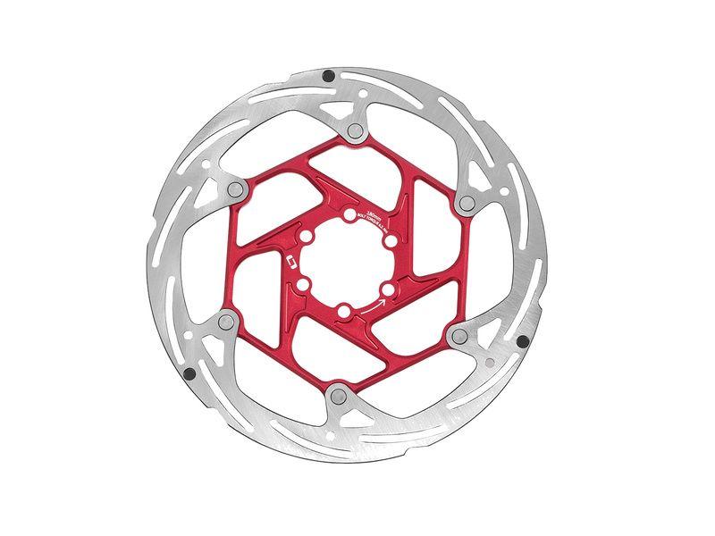 OnOff Disque de frein 2 pièces CNC Rouge 2019
